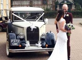 Wedding car hire in East Grinstead